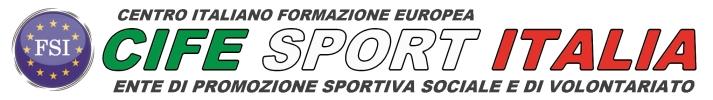 CIFE SPORT ITALIA PICCOLO