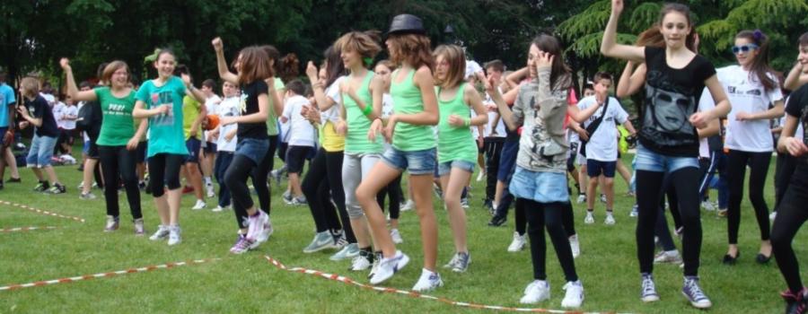 Parco Rosaci Roma Ragazze Ballo